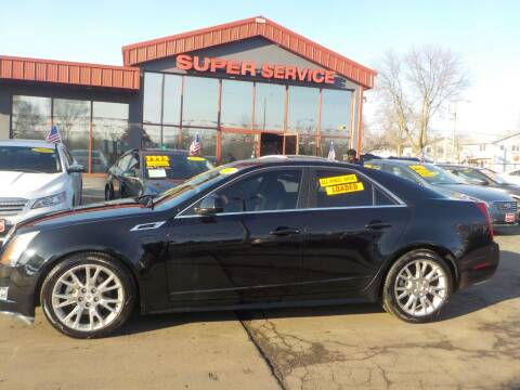 2012 Cadillac CTS for sale at Super Service Used Cars in Milwaukee WI