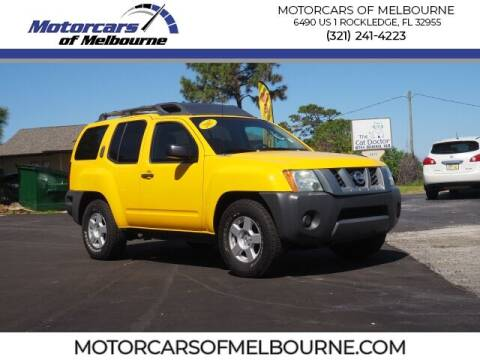 2007 Nissan Xterra for sale at Motorcars of Melbourne in Rockledge FL