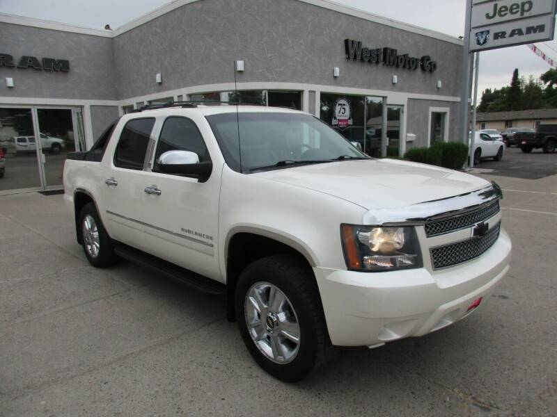 2010 Chevrolet Avalanche for sale at West Motor Company in Hyde Park UT