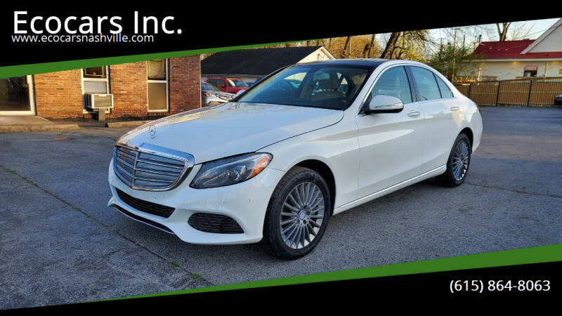 2015 Mercedes-Benz C-Class for sale at Ecocars Inc. in Nashville TN