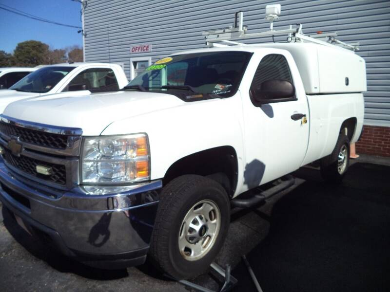 2011 Chevrolet Silverado 2500HD for sale at H and H Truck Center in Newport News VA