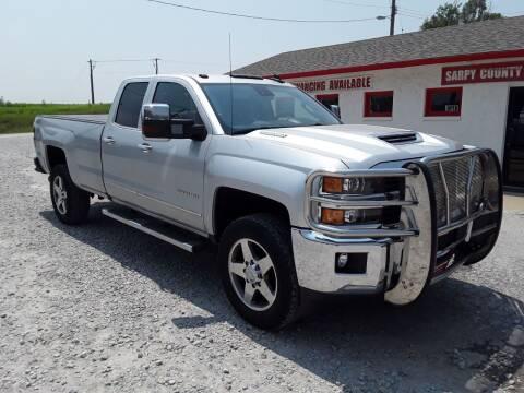 2017 Chevrolet Silverado 2500HD for sale at Sarpy County Motors in Springfield NE