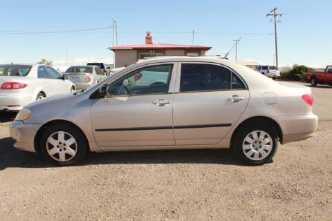 2003 Toyota Corolla for sale at Epic Auto in Idaho Falls ID