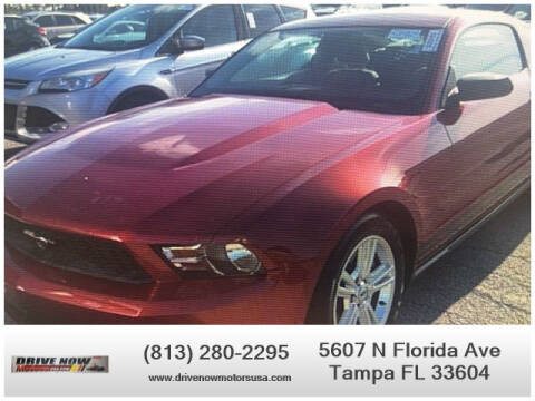 2011 Ford Mustang for sale at Drive Now Motors USA in Tampa FL