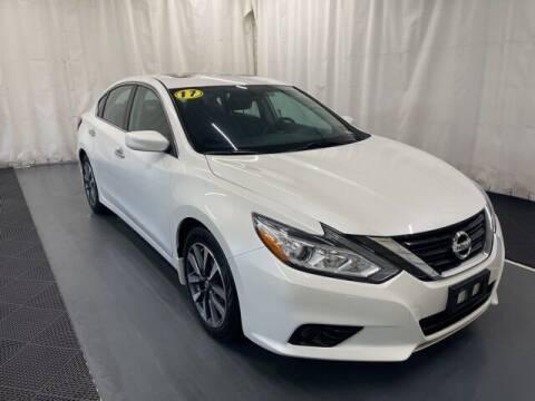 2017 Nissan Altima for sale at Monster Motors in Michigan Center MI