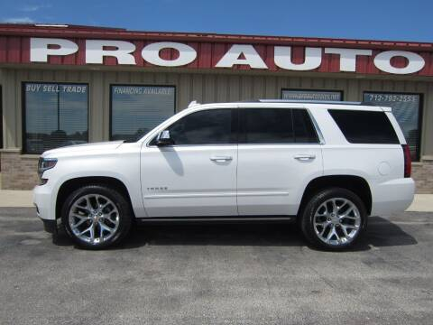 2017 Chevrolet Tahoe for sale at Pro Auto Sales in Carroll IA
