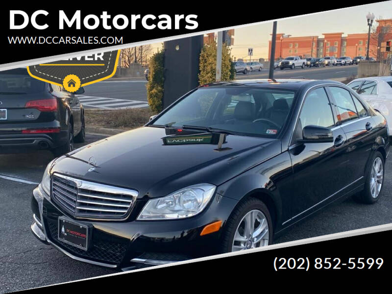 2012 Mercedes-Benz C-Class for sale at DC Motorcars in Springfield VA