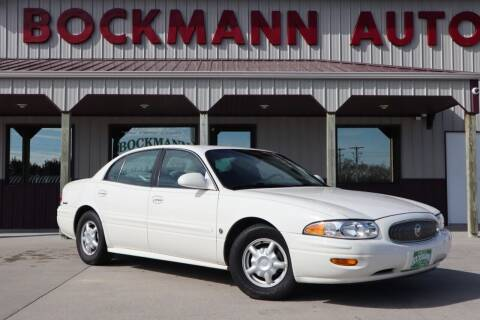 2001 Buick LeSabre for sale at Bockmann Auto Sales in St. Paul NE