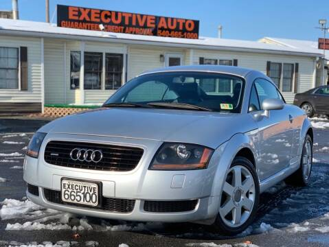 2000 Audi TT for sale at Executive Auto in Winchester VA