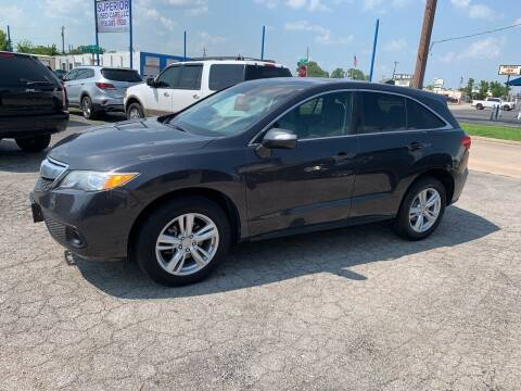 2015 Acura RDX for sale at Superior Used Cars LLC in Claremore OK