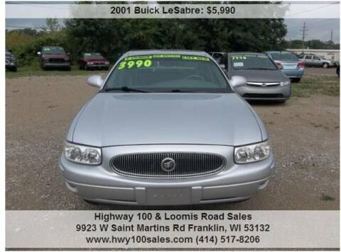 2001 Buick LeSabre for sale at Highway 100 & Loomis Road Sales in Franklin WI