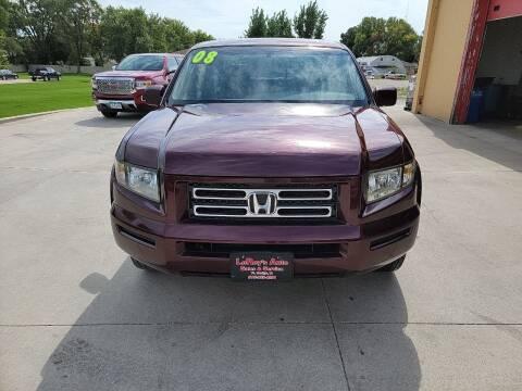 2008 Honda Ridgeline for sale at LEROY'S AUTO SALES & SVC in Fort Dodge IA