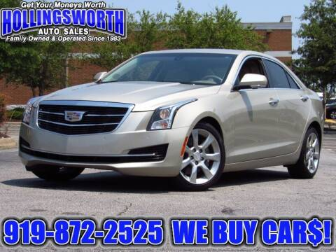 2015 Cadillac ATS for sale at Hollingsworth Auto Sales in Raleigh NC