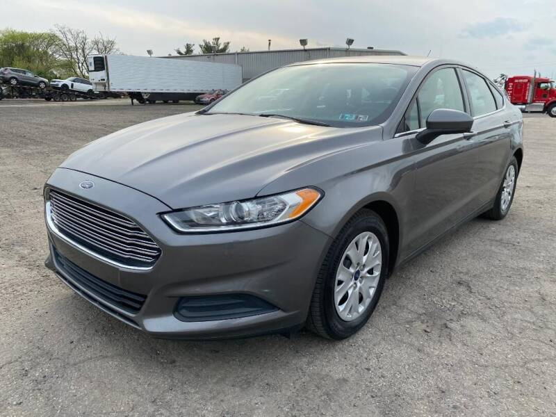 2014 Ford Fusion for sale at Professionals Auto Sales in Philadelphia PA