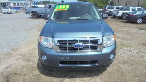 2012 Ford Escape for sale at Auto Mart - Moncks Corner in Moncks Corner SC