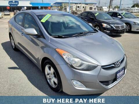 2012 Hyundai Elantra for sale at Stanley Direct Auto in Mesquite TX