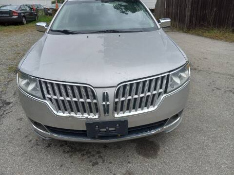 2012 Lincoln MKZ for sale at Maple Street Auto Sales in Bellingham MA