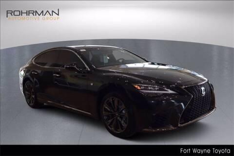 2021 Lexus LS 500 for sale at BOB ROHRMAN FORT WAYNE TOYOTA in Fort Wayne IN
