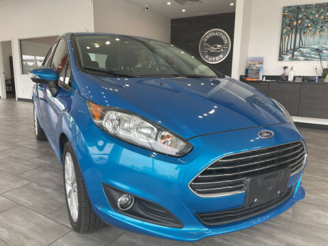 2014 Ford Fiesta for sale at Evolution Autos in Whiteland IN