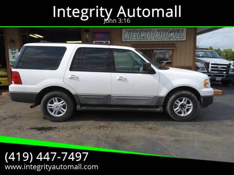 2004 Ford Expedition for sale at Integrity Automall in Tiffin OH