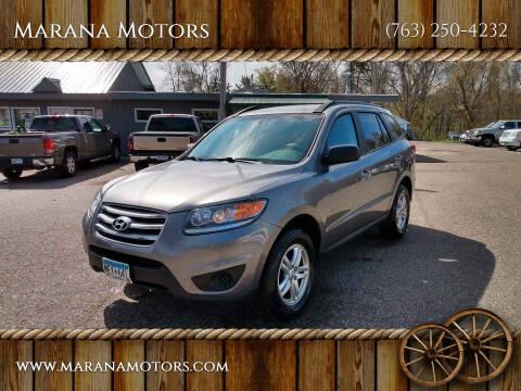 2012 Hyundai Santa Fe for sale at Marana Motors in Princeton MN