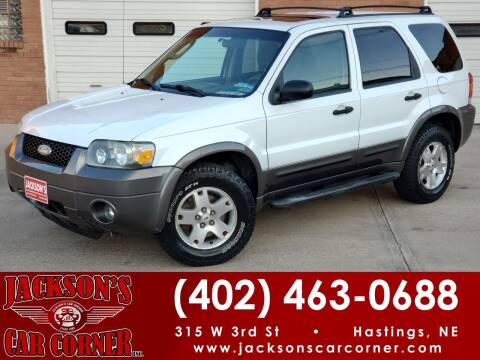 2006 Ford Escape for sale at Jacksons Car Corner Inc in Hastings NE
