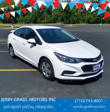 2016 Chevrolet Cruze for sale at JERRY GRADL MOTORS INC in North Tonawanda NY