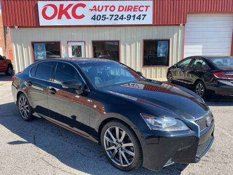 2015 Lexus GS 350 for sale at OKC Auto Direct in Oklahoma City OK