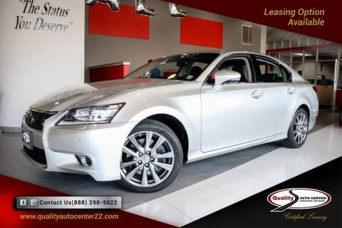 2015 Lexus GS 350 for sale at Quality Auto Center of Springfield in Springfield NJ