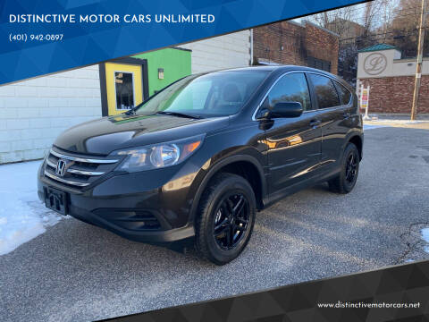 2014 Honda CR-V for sale at DISTINCTIVE MOTOR CARS UNLIMITED in Johnston RI