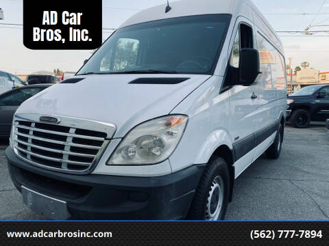 2011 Freightliner Sprinter Cargo for sale at AD Car Bros, Inc. in Whittier CA