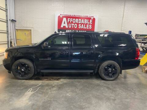 2013 Chevrolet Suburban for sale at Affordable Auto Sales in Humphrey NE