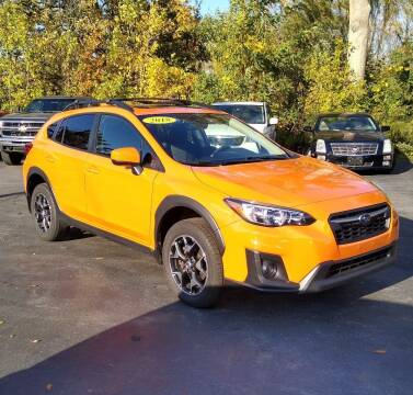 2018 Subaru Crosstrek for sale at JERRY GRADL MOTORS INC in North Tonawanda NY