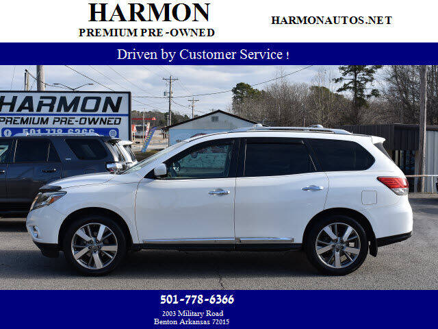 2013 Nissan Pathfinder for sale at Harmon Premium Pre-Owned in Benton AR