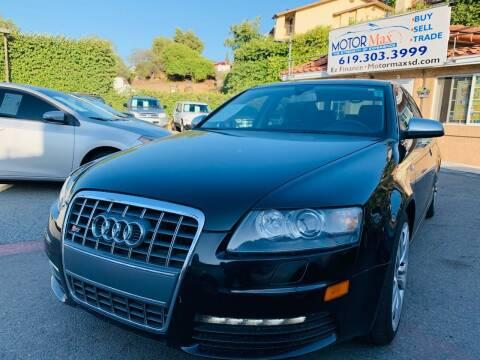 2008 Audi S6 for sale at MotorMax in Lemon Grove CA