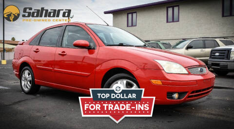 2006 Ford Focus for sale at Sahara Pre-Owned Center in Phoenix AZ