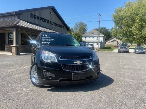 2014 Chevrolet Equinox for sale at Drapers Auto Sales in Peru IN