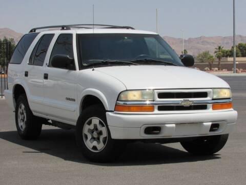 2002 Chevrolet Blazer for sale at Best Auto Buy in Las Vegas NV