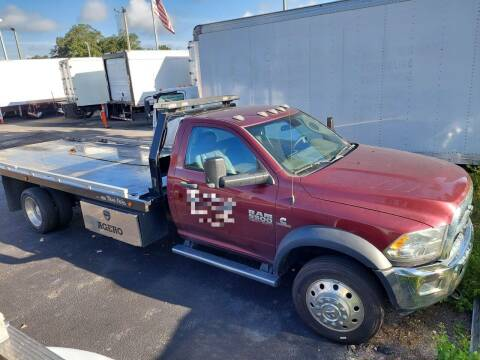 2018 RAM Ram Chassis 5500 for sale at Orange Truck Sales in Orlando FL