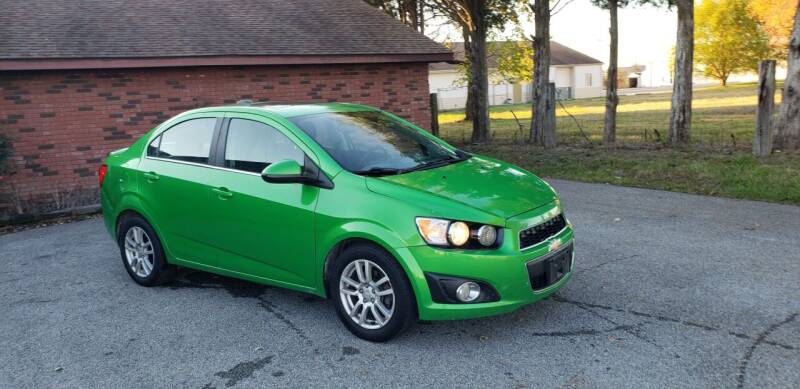2015 Chevrolet Sonic for sale at Elite Auto Sales in Herrin IL