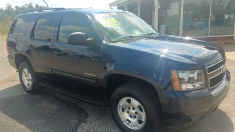 2009 Chevrolet Tahoe for sale at AutoBoss PRE-OWNED SALES in Saint Clairsville OH