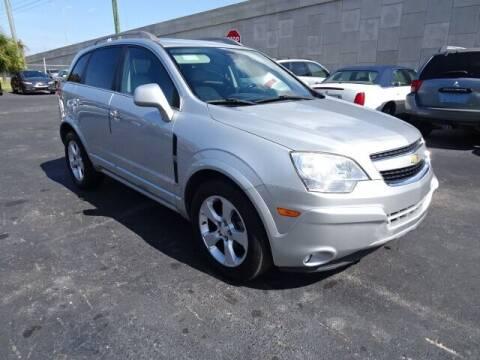 2014 Chevrolet Captiva Sport for sale at DONNY MILLS AUTO SALES in Largo FL