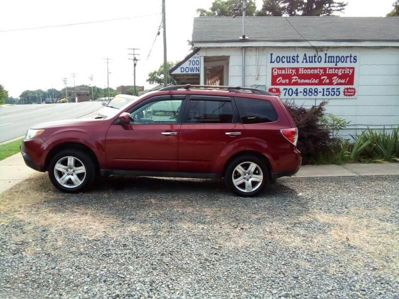 2009 Subaru Forester for sale at Locust Auto Imports in Locust NC
