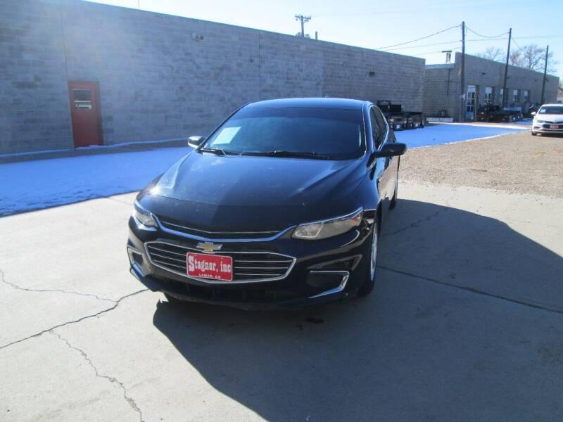 2017 Chevrolet Malibu for sale at Stagner INC in Lamar CO