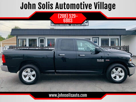 2017 RAM Ram Pickup 1500 for sale at John Solis Automotive Village in Idaho Falls ID