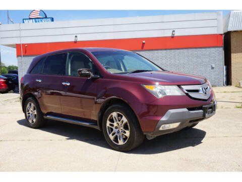 2009 Acura MDX for sale at Sand Springs Auto Source in Sand Springs OK