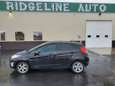 2012 Ford Fiesta for sale at RIDGELINE AUTO in Chubbuck ID