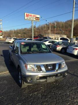 2010 Nissan Frontier for sale at MARLAR AUTO MART SOUTH in Oneida TN