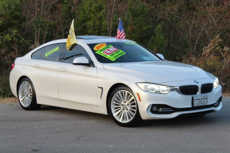 2015 BMW 4 Series for sale at McMinn Motors Inc in Athens TN