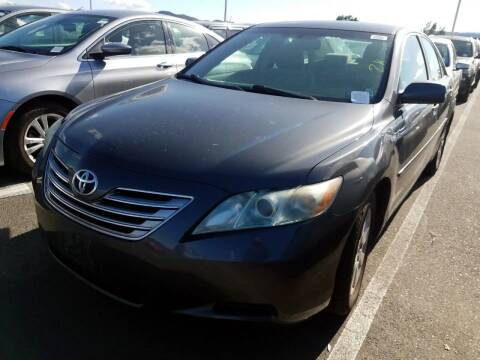 2009 Toyota Camry Hybrid for sale at MCHENRY AUTO SALES in Modesto CA
